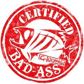 what certified bad ass means bassblaster. Black Bedroom Furniture Sets. Home Design Ideas