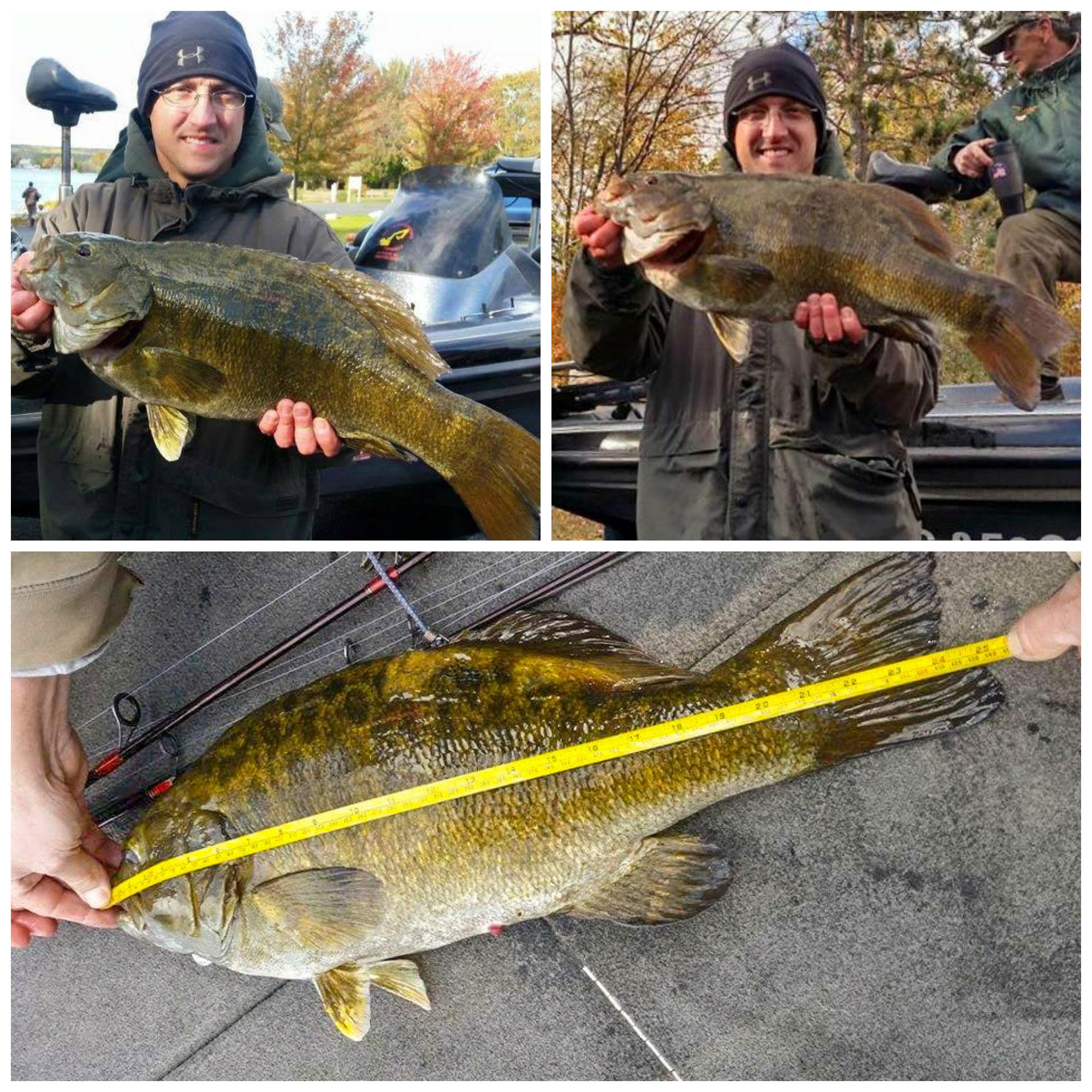 Record bass jay kumar 39 s bassblaster for Michigan bass fishing