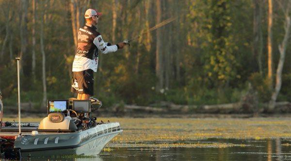 How jason christie got 2nd at the potomac bassblaster for Jason christie fishing